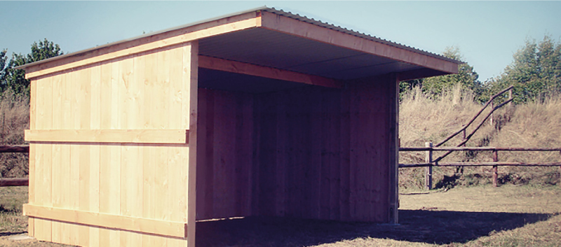 Construction et abris pour vos chevaux equidagen - Abri chevaux pas cher ...